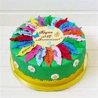 Торт на выпускной №2